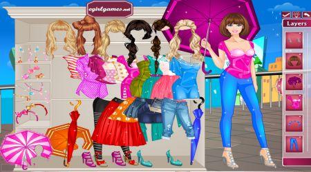 Captura de pantalla - Barbie: Día lluvioso