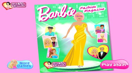 Captura de pantalla - Barbie: Revista de moda