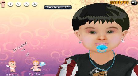 Captura de pantalla - Cambio de look: Bebé adorable