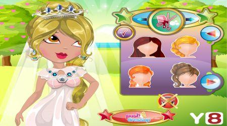 Captura de pantalla - Cambio de look: Boda de princesa