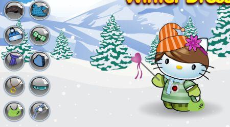 Captura de pantalla - Hello Kitty: Moda de invierno