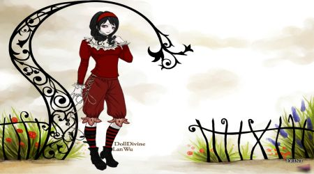 Captura de pantalla - Lolita gótica