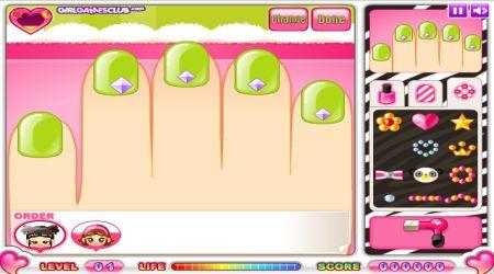 Captura de pantalla - Sami: Estudio de manicura